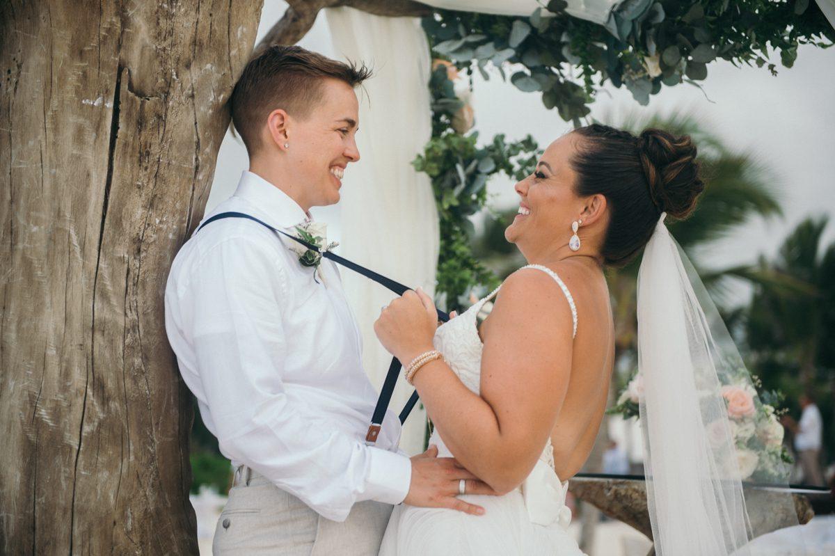 Same-Sex Wedding Hard Rock Punta Cana
