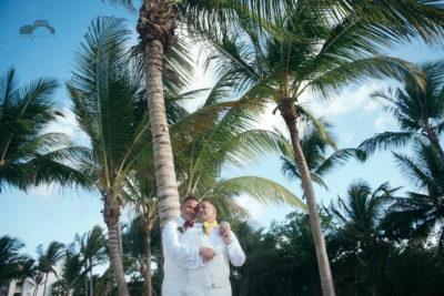 ame sex wedding photography - Hard Rock Punta Cana