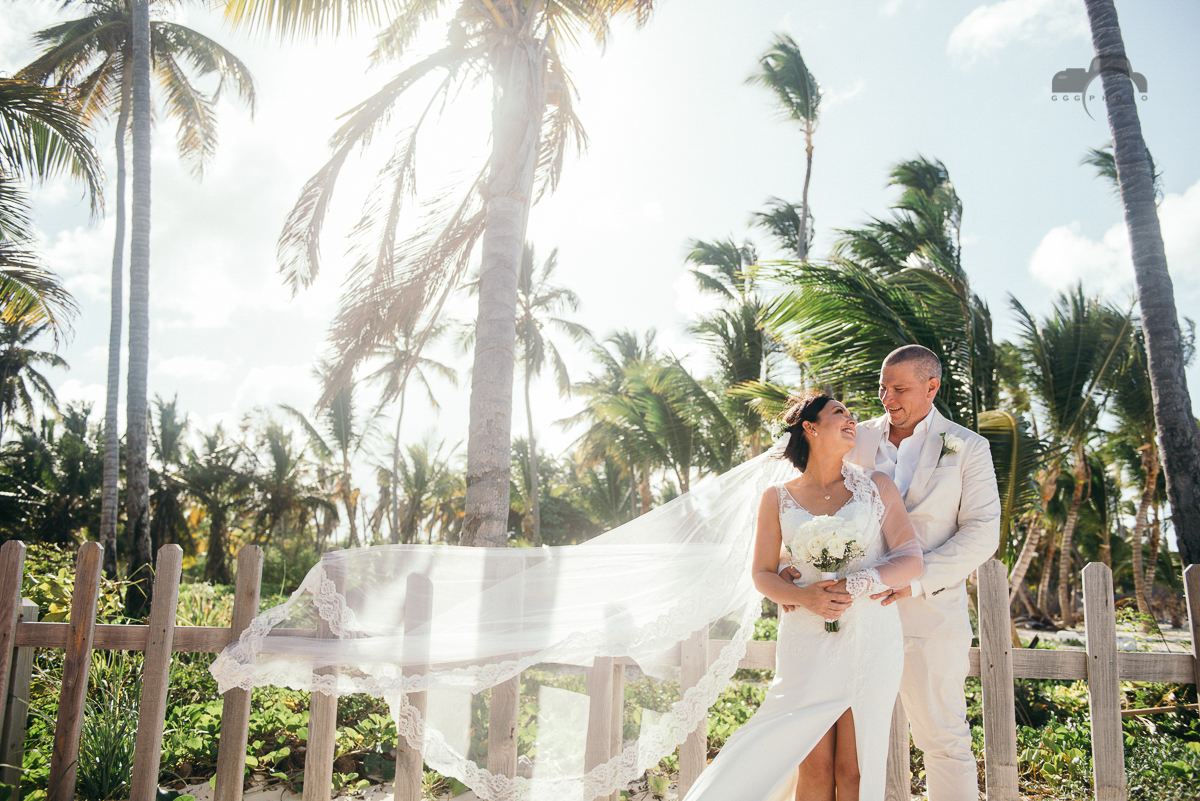 A dreamy destination wedding