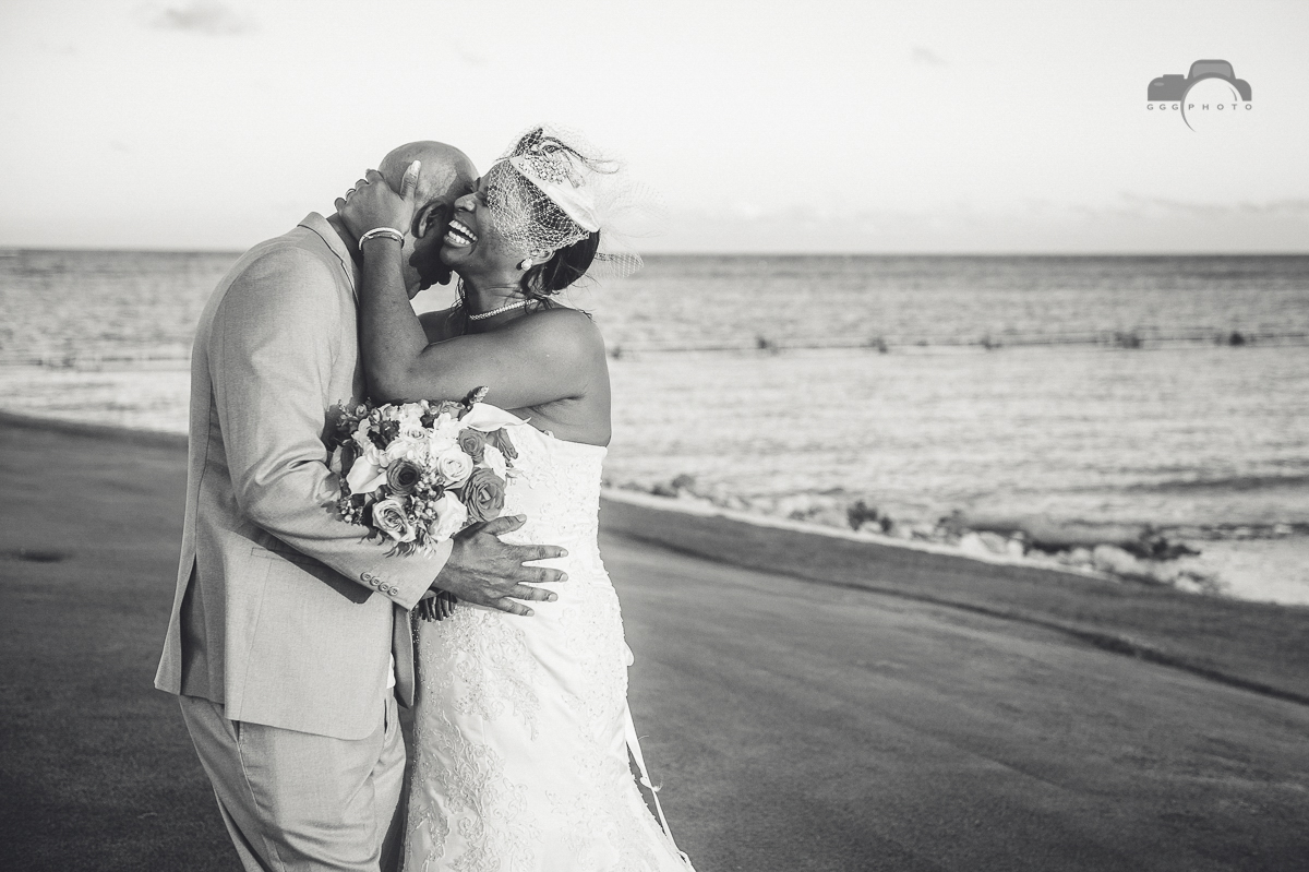 beach destination wedding La Cana Beach Club.